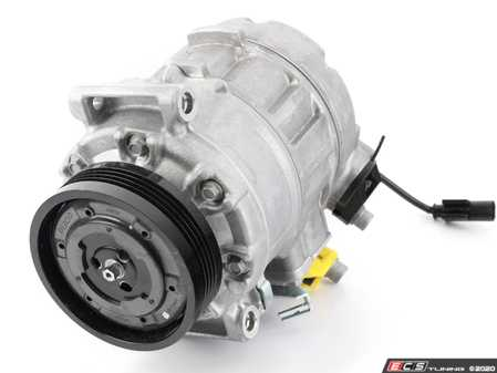 ES#3706952 - 64522147457 - A/C Compressor - New - Includes the electromagnetic clutch assembly - Denso - BMW