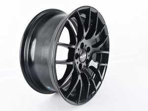 "ES#4151051 - 030-10sd4 - 18"" Style 030 (18x8, ET35, 5x112, 72.6CB) Gloss Black *Scratch And Dent* - *This is a scratch and dent item, please see photos and description prior to ordering. All sales final.* - Alzor - Audi Volkswagen"