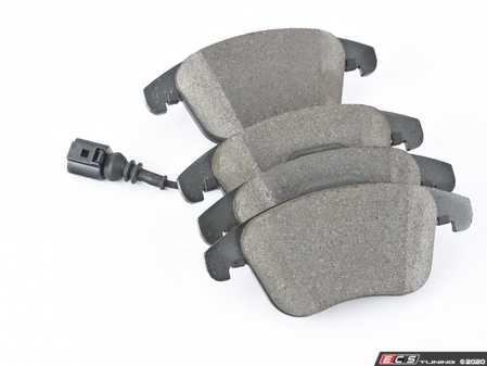 ES#4068799 - 5N0698151C - Front Brake Pad Set  - Restore your vehicles stopping power - ATE - Audi Volkswagen