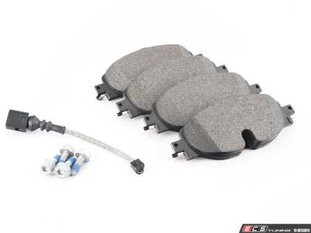 ES#4147544 - 8V0698151G - Front Brake Pad Set - Composite pads that are a great solution for your daily driver. - ATE - Audi Volkswagen