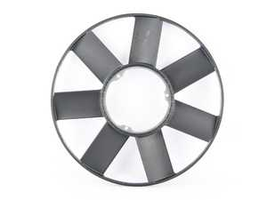 ES#2813465 - 11522243303 - European Fan - 420mm. Fits like stock with an outer ring to stabilize and reinforce the blades. - Hamburg Tech - BMW
