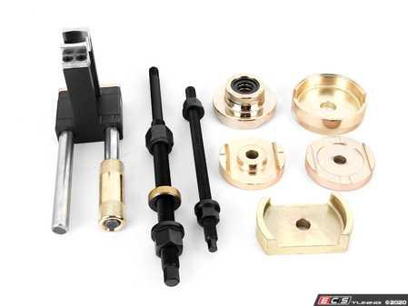 ES#3673936 - B8800097 - Rear Subframe Bushing Press Tool Set - Change your bushings without removing the subframe - Bav Auto Tools - BMW