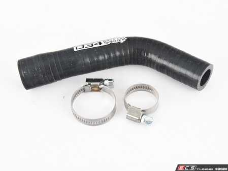 ES#4030571 - 034-104-2006 - Silicone Pressure-Regulating Valve To Turbo Inlet Hose  - Constructed from 4-ply high-temperature automotive grade silicone, which will not crumble apart or rip like the factory rubber hose. - 034Motorsport - Audi