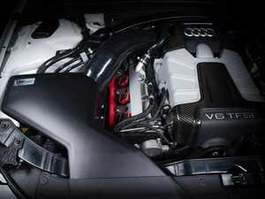 ES#4316395 - 006225LA01 - Audi B8/B8.5 S4/S5 3.0T Enclosed Luft-Technik Intake System - Matte Black Textured Lid - Engineered for increased engine performance with show quality looks - ECS - Audi