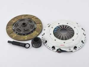 ES#4158583 - 02029HDTZsd - Stage 3 FX300 Clutch Kit - *Scratch And Dent* - *This is a scratch and dent item, please see photos and description prior to ordering. All sales final.* Features the Power Plus I Pressure Plate with a Steel Back Segmented Kevlar disc - 110% increased holding capacity - Clutch Masters - Audi