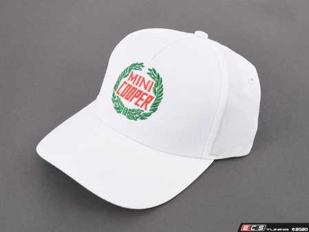 ES#3671866 - 80162463255 - MINI CAP Vintage Logo - White - Throw back to 60 years with this Classic Mini Hat - Genuine MINI - MINI