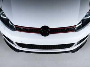 ES#4001265 - 028749ECS01-02KT -  VW MK6 GTI Front Lip Spoiler - Textured Black - In-house engineered to upgrade your exterior styling - ECS - Volkswagen