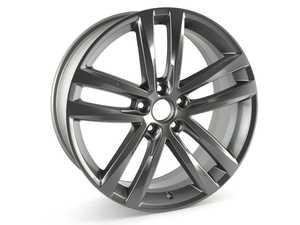 """ES#2968545 - 561601025PZ49 - 19"""" Salvador Wheel - Priced Each - 19""""x8.0"""" ET48, 5x112 - Genuine Volkswagen Audi - Volkswagen"""