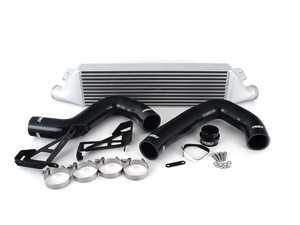 ES#4033453 - 023622ecs01-01KT - MK6 GTI/Golf R Front Mount Intercooler Kit - For OEM Charge Pipes - Bolt on up to +9 WHP / +10 WTQ and lower intercooler outlet temps by 66 F with our In-House Engineered FMIC Kit! - ECS - Volkswagen