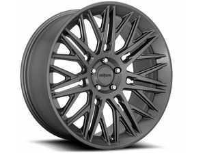 """ES#4159547 - r163220043+20KT - 22"""" JDR - Set Of Four - 22x10, 5x112, ET20, 66.56mm CB - Matte Anthracite Finish - Rotiform - Audi"""