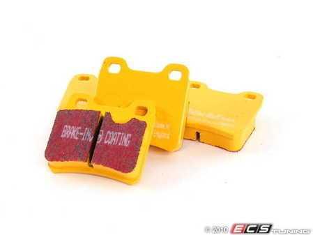 ES#521092 - DP4761R - EBC Yellowstuff Pad Set - Saab - Rear - EBC -