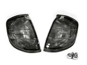 ES#4159678 - CLMBZW140SMK - Front Turn Signal Housing Set - Smoked - Includes bulbs - Depo - Mercedes Benz