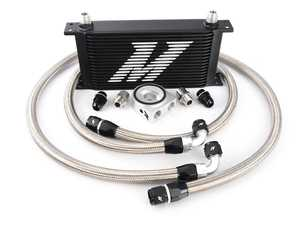 ES#2764102 - MM0CULBK - Universal Oil Cooler - 19 Row - Black - Serious engine oil cooling for the most demanding engines - Mishimoto - Audi BMW Volkswagen MINI