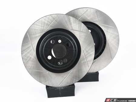 """ES#4305391 - 126.34160csKT - Front JCW GP2 Cryo Treated Slotted Brake Rotors - Pair 13"""" (330x25) - Reduce the fading, improve your braking - StopTech - MINI"""