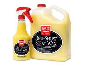 ES#4164072 - 10968 - Best of Show Spray Wax 22oz - Best of Show Spray Wax doesn't just add color, depth, and clarity, its rich carnauba/polymer formula also creates class-leading paint - Griot's - Audi BMW Volkswagen Mercedes Benz MINI Porsche