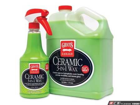 ES#4164080 - 10978 - Ceramic 3 in 1 Wax 22oz - Griot's customers asked for a Griot's Garage ceramic. here it is. We've stepped up to create, formulate, and manufacture our own - Griot's - Audi BMW Volkswagen Mercedes Benz MINI Porsche