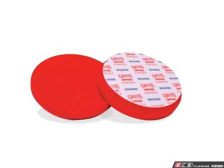 """ES#4164026 - 10525 - Red Foam Waxing Pads - 5.5"""" - 2 Pack - This pad is made for the precise, even application of waxes and sealants, ensuring easy product removal and vibrant, uniform color. - Griot's - Audi BMW Volkswagen Mercedes Benz MINI Porsche"""
