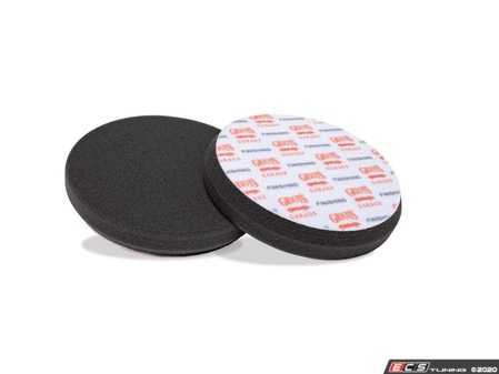 "ES#4164032 - 10619 - Black Foam Finishing Pads - 6.5"" - 2 Pack  - When used with polishes and sealants, this pad removes fine swirls, scratches, and light defects on the most delicate paint finishes. - Griot's - Audi BMW Volkswagen Mercedes Benz MINI Porsche"