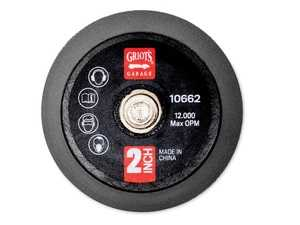 """ES#4164041 - 10662 - 2"""" Random Orbital Backing Plate - Converting to our 2-inch pad family adds more precision to your 3"""" Random Orbital or G8 Mini Random Orbital Polisher. - Griot's - Audi BMW Volkswagen Mercedes Benz MINI Porsche"""