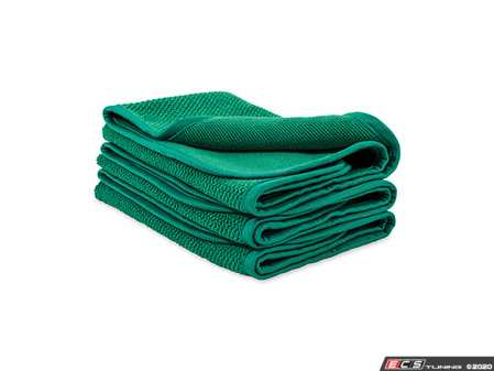 ES#3672316 - 10282 - Dual Weave Interior Towels - 3 Pack  - Enjoy superior cleaning and surface buffing with these versatile microfiber towels - Griot's - Audi BMW Volkswagen Mercedes Benz MINI Porsche