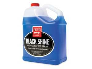 ES#4164065 - 10958 - Black Shine High Gloss Tire Spray - 1 Gallon - Eliminate messy overspray and enjoy total control of your gloss level so tires can have a sedate satin finish or a glossy show shine. - Griot's - Audi BMW Volkswagen Mercedes Benz MINI Porsche