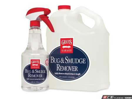 ES#4164084 - 10982 - Bug & Smudge Remover - 22oz - Griot's Garage Bug & Smudge Remover softens baked-on bug jerky so removal is quick, easy, and safe. No drama, no mess. - Griot's - Audi BMW Volkswagen Mercedes Benz MINI Porsche