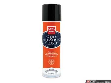 ES#4164117 - 11367 - Citrus Multi-Surface Cleaner - 19oz - Meet your new go-to cleaner. Experience outstanding results on your vehicle, around the garage, and in your house. - Griot's - Audi BMW Volkswagen Mercedes Benz MINI Porsche