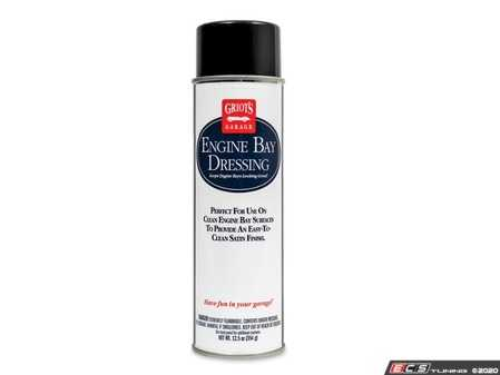 ES#4164407 - 20244KT - Griot's Garage Engine Bay Dressing - Make your engine bay look factory-new again! This dressing is a surface enhancer and protectant for all materials and finishes inside - Griot's - Audi BMW Volkswagen Mercedes Benz MINI Porsche