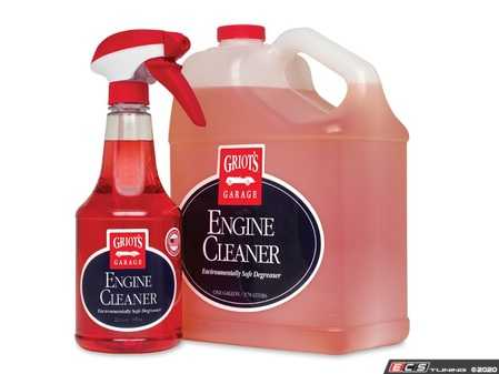 ES#4164107 - 11158 - Engine Cleaner - Gallon - Spray on Engine Cleaner and agitate the area with a detail brush to remove grease, oil, dirt, and grime. - Griot's - Audi BMW Volkswagen Mercedes Benz MINI Porsche