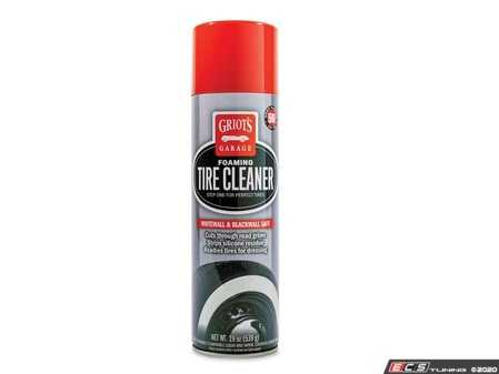 ES#4164454 - 10952KT - Foaming Tire Cleaner 19oz - Unleash the power of foam to cut through brake dust and road grime, strip away silicone residue, and prepare your tires for dressing. - Griot's - Audi BMW Volkswagen Mercedes Benz MINI Porsche