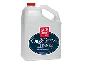 ES#4164098 - 11047 - Oil & Grease Cleaner - Gallon - This cleaner naturally breaks down and cleans oil and grease from most surfaces and materials. Perfect on any water-safe surface. - Griot's - Audi BMW Volkswagen Mercedes Benz MINI Porsche