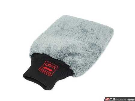 ES#4164012 - 10260 - Microfiber Detailing Mitt - Our deep, plush-nap microfiber safely lifts dust and dirt off the surface and tucks it away, ensuring a scratch-free finish. - Griot's - Audi BMW Volkswagen Mercedes Benz MINI Porsche