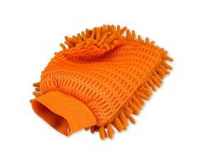 ES#4164013 - 10281 - Microfiber Wash & Scrub Mitt - Get two cleaning methods in a single mitt. It has a scrubbing side and wash side, both with the safety and security of microfiber. - Griot's - Audi BMW Volkswagen Mercedes Benz MINI Porsche