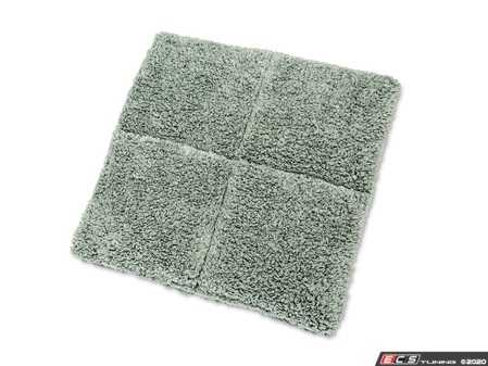 ES#4164014 - 10289 - Microfiber Wash Pad - We've designed our innovative wash pad in quadrants so you can fold it in half, providing four individual cleaning panels per side. - Griot's - Audi BMW Volkswagen Mercedes Benz MINI Porsche