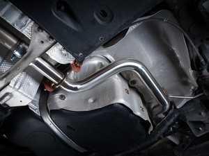 ES#4046180 - 026151ECS01 -  MK6 Jetta GLI Resonator Delete Pipe - Significantly enhance the exhaust note on your GLI's stock exhaust system with our ECS Resonator Delete Pipe Kit! - ECS - Volkswagen