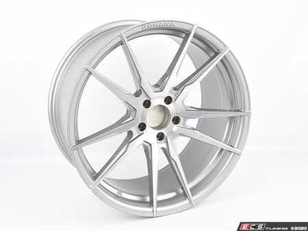 "ES#4164793 - F22095112BT25SD - 20"" RF2 Wheel - Single Wheel *Scratch And Dent* - *Please see description prior to ordering* 20""x9"", ET25, CB66.6, 5x112 - Brushed Titanium - Rohana Wheels - Audi"