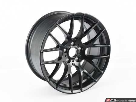 """ES#4164868 - 36112284150SD6 - 19"""" Competition Package Style 359 Wheel - Matte Black *Scratch And Dent* - 19x9 ET31 72.6 CB - Genuine BMW - BMW"""