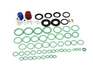 ES#2975667 - 559807901 - A/C System Retrofit Kit  - Kit includes new o-rings and charge port adapter needed to switch to R134 - Santech - BMW