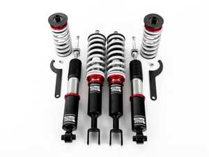 ES#3624746 - 027966ECS01 - Adjustable Damping Performance Coilover System - Audi B6/B7 A4/S4 - Take control of your ride while going low with our sport-tuned coilover system! - ECS - Audi