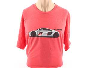 ES#3572009 - ACM3026RED2X - Audi R8 LMS GT3 T-Shirt - Red - XXL - Cross the finish line first every time with the Audi R8 LMS GT3 Tee! - Genuine Volkswagen Audi - Audi BMW Volkswagen Mercedes Benz MINI Porsche