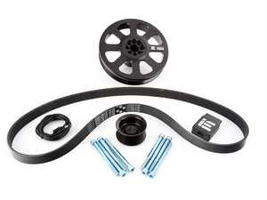 ES#4351841 - ieppcgj1 - Integrated Engineering 3.0T Dual Pulley Power Kit - Turn your Audi B8 S4 or S5 into an all-out street monster with IE's complete Dual Pulley kit! - Integrated Engineering - Audi