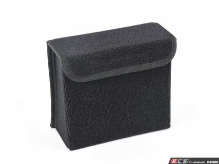 ES#4173499 - CDC1 - CD Magazine Holder / Storage Box - Carpeted - Used in the trunk or rear trunk deck lid to store things away! - Bavarian Autosport - BMW MINI