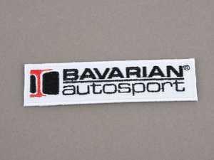ES#4173502 - BAVPATCH - Bavarian Autosport Stitched Patch - Priced Each - Add the Bavarian Autosport logo to your favorite item! - Bavarian Autosport - BMW MINI