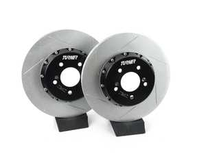 ES#3625844 - 025518tms02aKT - Turner Motorsport Rear TrackSport Rotor Set - 350x24mm - Upgrade your BMW's brakes for the ultimate track performance! - Turner Motorsport - BMW