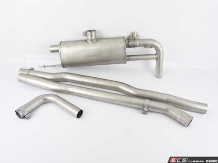 ES#4176965 - 756216-1500SD - Cat-Back System L/R With Integrated Valves, Original Tube 65 Mm, REMUS Tube 70 Mm *Scratch And Dent* - MINI - Remus -