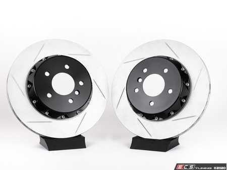 ES#4164943 - 024398tms03aKT - Turner Motorsport Rear TrackSport Rotor Set - 336x22mm - Upgrade your BMW's brakes for the ultimate track performance! - Turner Motorsport - BMW