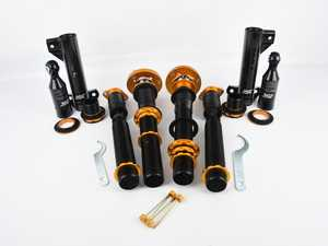 ES#4172059 - B002-SSD - ISC N1 Coilover Kit - Street Sport *Scratch And Dent* - A high quality, performance coilover kit at a low cost. Stiffer springs and street sport valving for aggressive street and occasional track use! - ISC Suspension - BMW