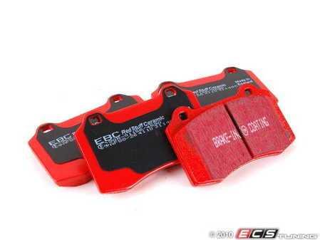 ES#520231 - DP31140C - EBC Redstuff Ceramic Pad - DeTomaso/Ferrari/Lotus+Ferrari/Jag (rr) - Front and Rear - EBC -