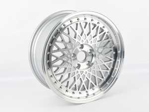 "ES#4212932 - m2201128msSD - 18"" M220 - Single Wheel - *Scratch And Dent* - *Please see description prior to ordering* 18""X8"" ET45, CB57.1mm 5x112 - Machine Silver Finish - Avant Garde - Volkswagen"