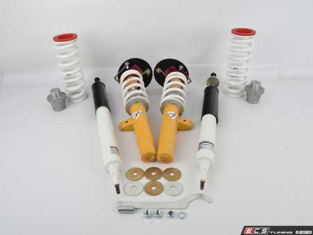 ES#4171983 - E9XXISA400700CCS - TCKR Single Adjustable Coilover Kit - E9X XDrive - 400 Front Spring Rate, 700 Rear Spring Rate, TC Kline Caster/Camber Plates, Standard Single Adjustable Rear Shocks *Scratch And Dent* - TC Kline Racing -